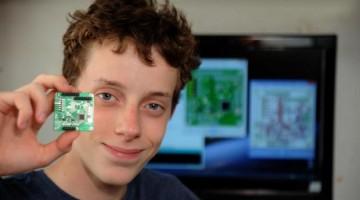 會寫程式的 14 歲少年,居然打造了一顆人造衛星